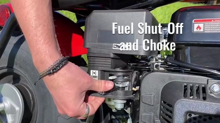 Massimo Motor Warrior 200 - Fuel Shut-Off and Choke