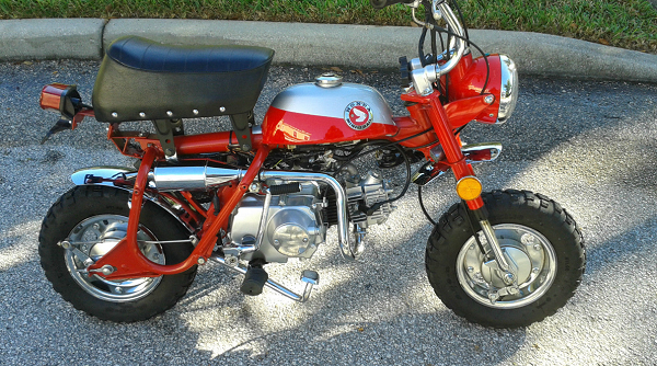1969 HONDA Z50 MINITRAIL CLONE