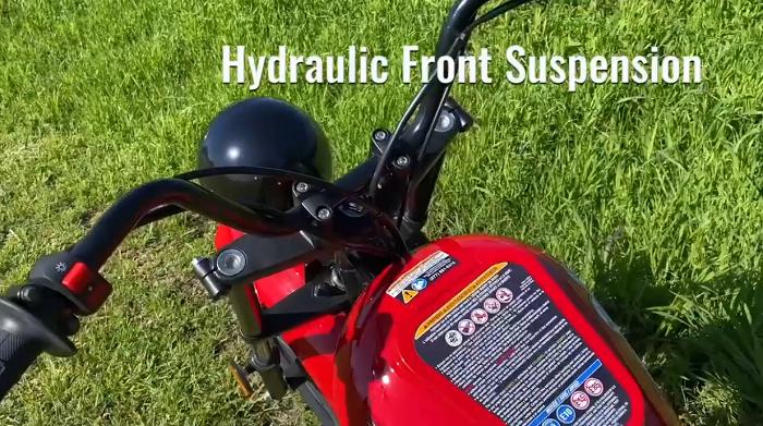 Massimo Motor Warrior 200 - Hydraulic Front Suspension