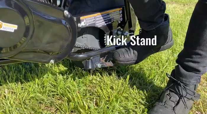 Massimo Motor Warrior 200 - Kick Stand