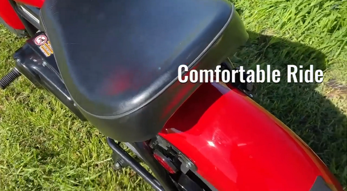 Massimo Motor Warrior 200 - Comfortable Ride
